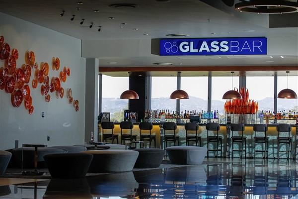 The inside of The GlassBar - Restaurants in Nelspruit - Shandon Lodge
